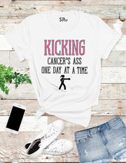 Kicking-Cancers-Ass-T-Shirt-White