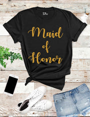 Maid-of-Honor-T-Shirt-Black