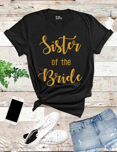 Sister-of-The-Bride-T-Shirt-Black
