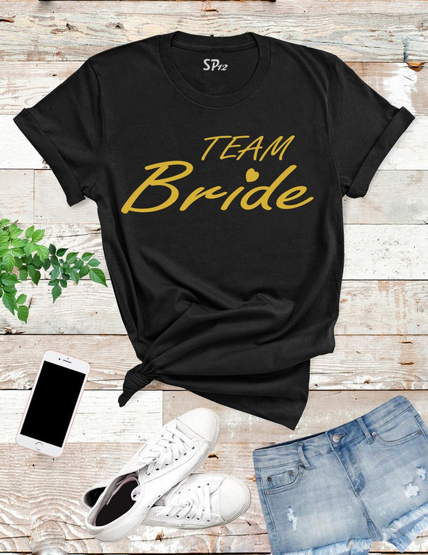 Team-Bride-T-Shirt-Black