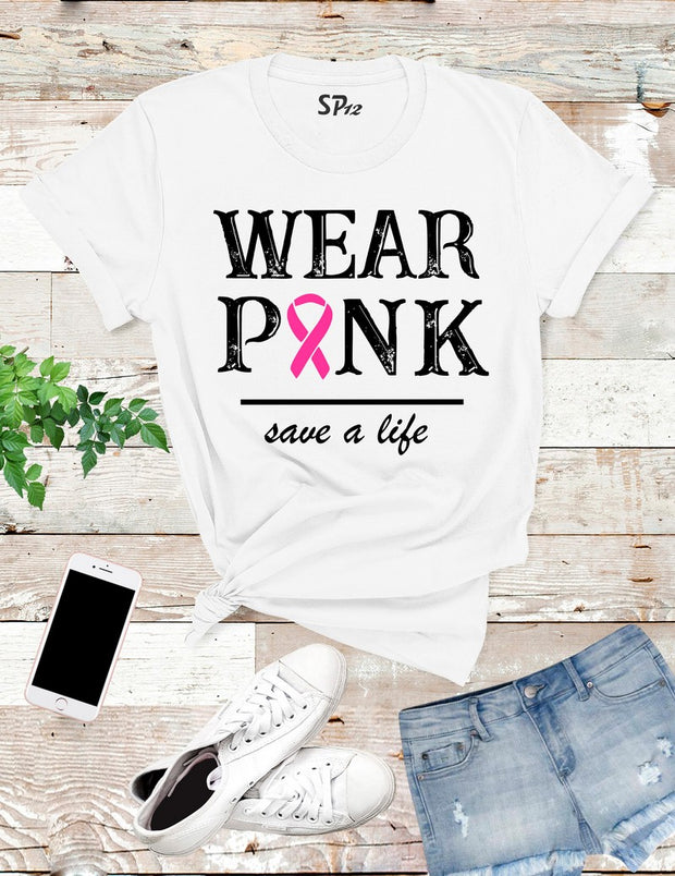 Wear-Pink-Breast-Cancer-Awareness-T-Shirt-White