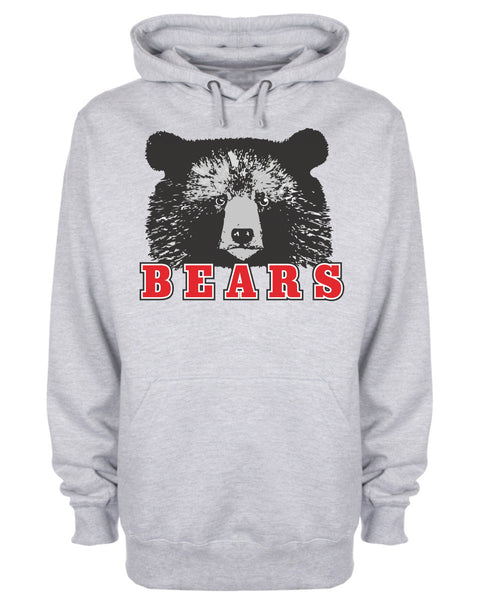 Bears Animal Slogan Hoodie
