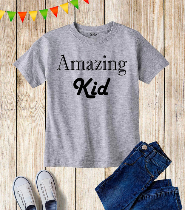 Amazing Kids T Shirt