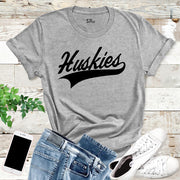 Huskies T Shirt