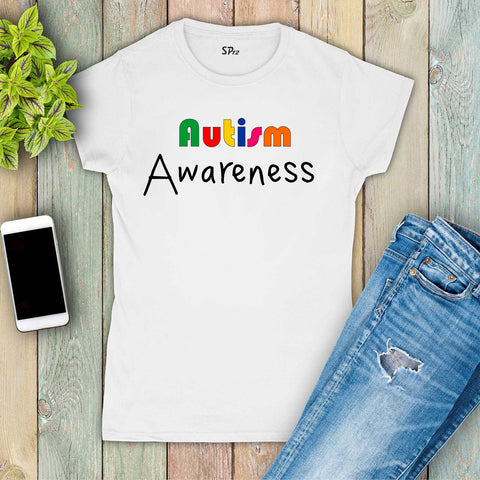 Autism Awareness Women T Shirt