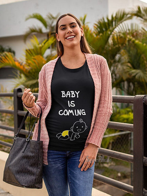 Baby Come Back Pregnancy T Shirt