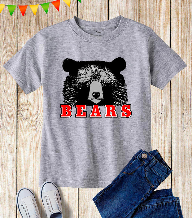 Bears Kids T Shirt