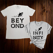 Beyond To Infinity Couple T Shirt