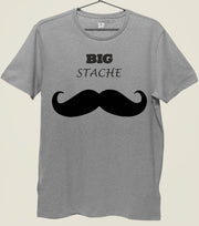 Big Stache Funny Mustache T shirt