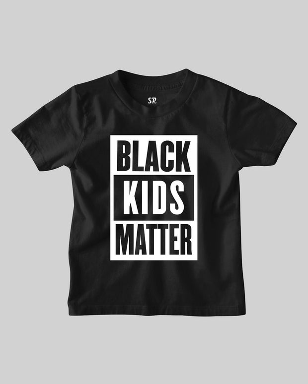 Black Kids Matter Protest Civil Rights T shirt Basketballer Activist Tee Shirt