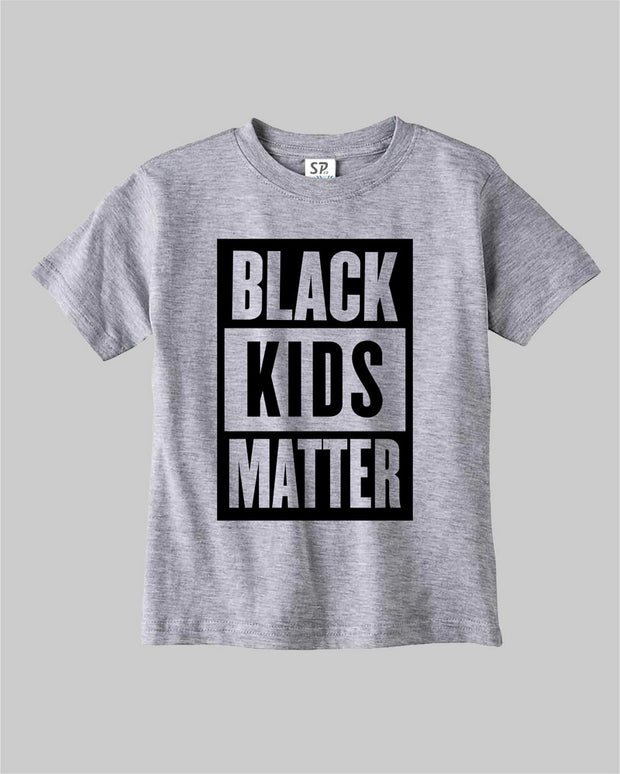 Black Kids Matter T Shirt Black Movement Equality Civil Rights Tee