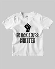 Black Lives Matter Fist Symbol Kids T Shirt Anti Racist RevolutionTee Shirt