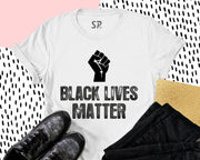Black Lives Matter Fist Symbol T Shirt Anti Racist RevolutionTee Shirt