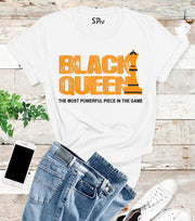 Black Queen T Shirt The Most Powerful Piece In The Game tees