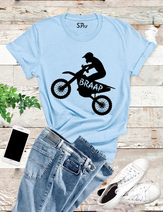 Braap Biker T Shirt