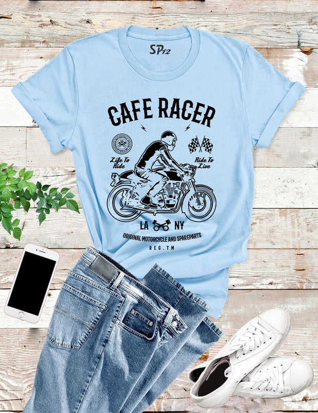 Cafe Racer T Shirt