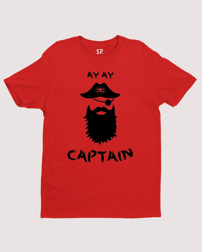 AYAY Captain beard T Shirt