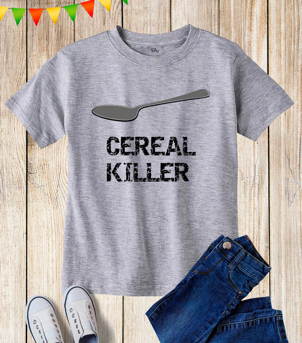 Cereal Killer Kids T Shirt