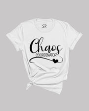 Chaos Coordinator T-Shirt Mom Shirts with Sayings Mothers Day Motherhood Tee