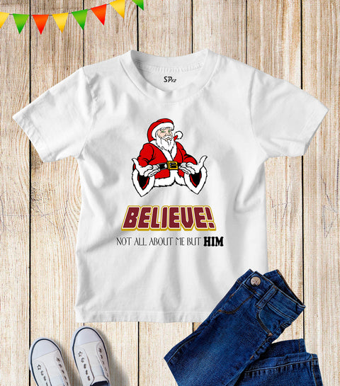 Christmas Santa Claus Kids T Shirt