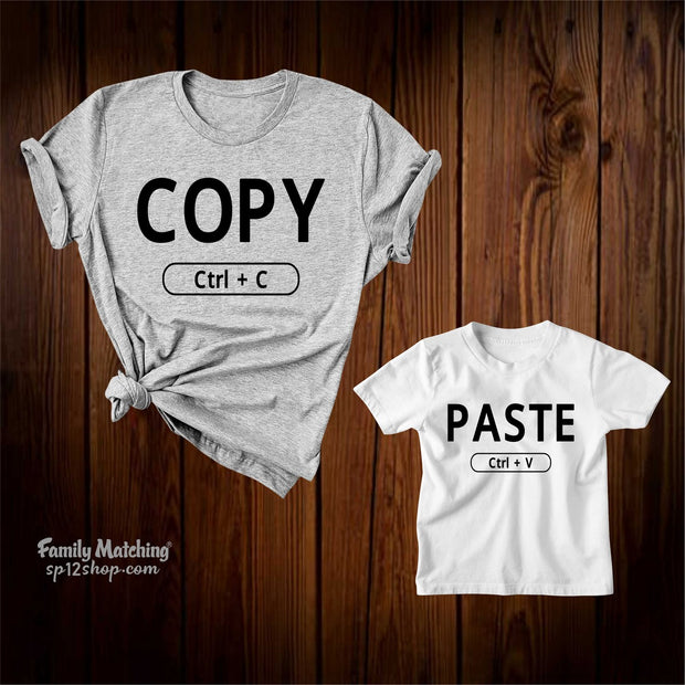 Copy And Paste Matching T Shirts