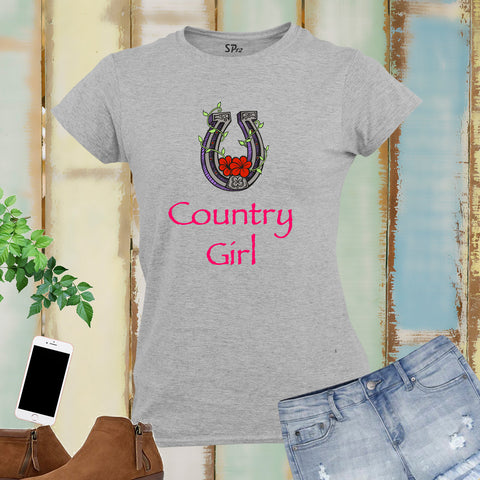 Country Girl Women T Shirt