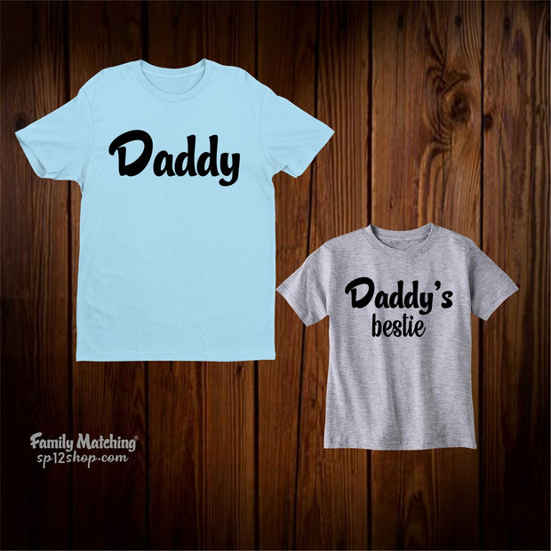 Daddy And Daddys Bestie Matching T Shirt