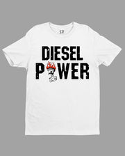 Diesel Power Fire On Automobile Hobby T shirt
