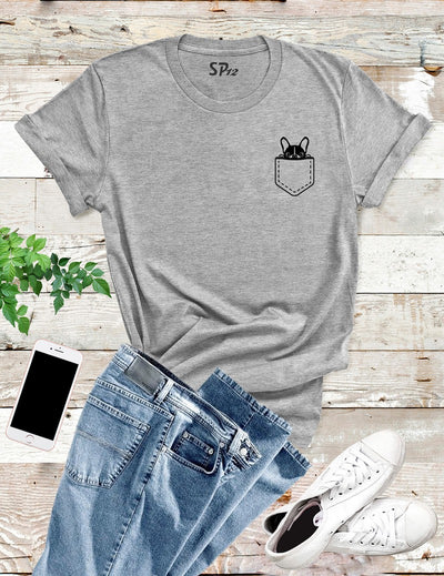Dog Pocket T Shirt