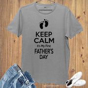 It's My First Father's Day Funny T Shirt