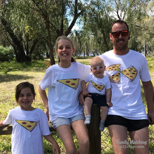 Family Matching Pizza T Shirt