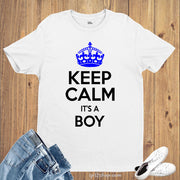 Daddy Pregnancy Announcement  Its A Boy T Shirt