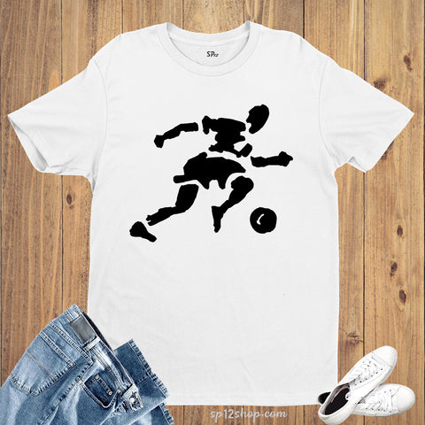 Footballer Football Match Soccer Sports T shirt