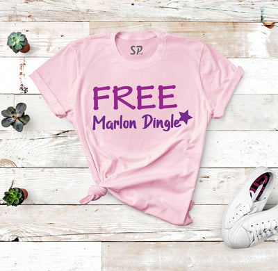 FREE Marlon Dingle Emmerdale Fans Unisex T-Shirt Gift For Children And Friends