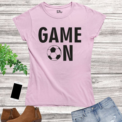 Game On Football Women T Shirt