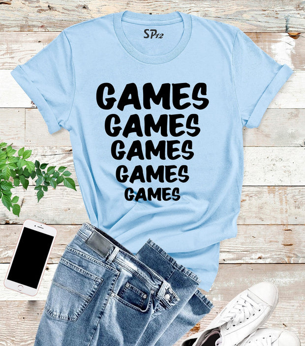 Games Funny Sports T Shirt
