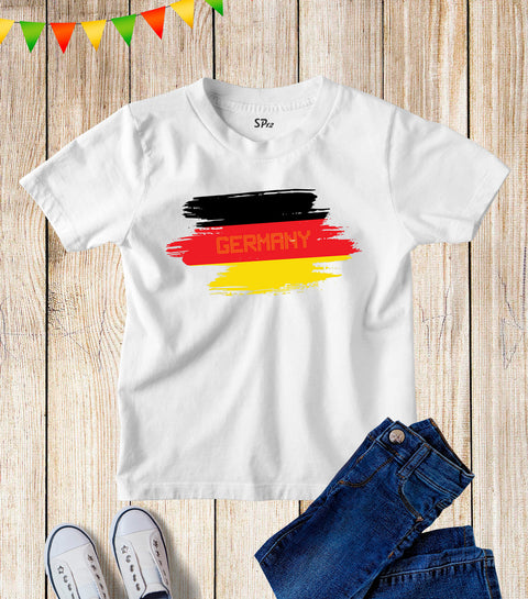 Kids Germany Football FIFA World Cup T Shirt