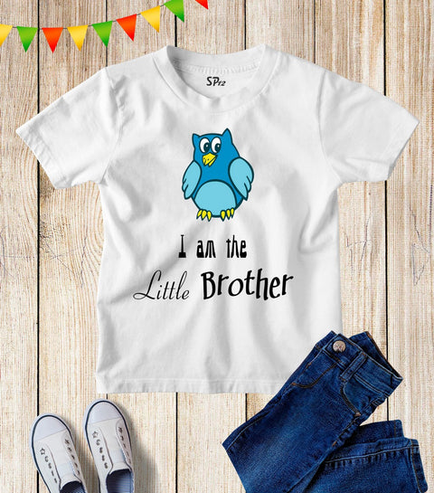I Am The Little Brother Kids T Shirt