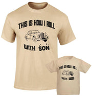 This is how we Roll Family Matching T shirt