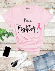 I'm A Fighter Breast Cancer T Shirt
