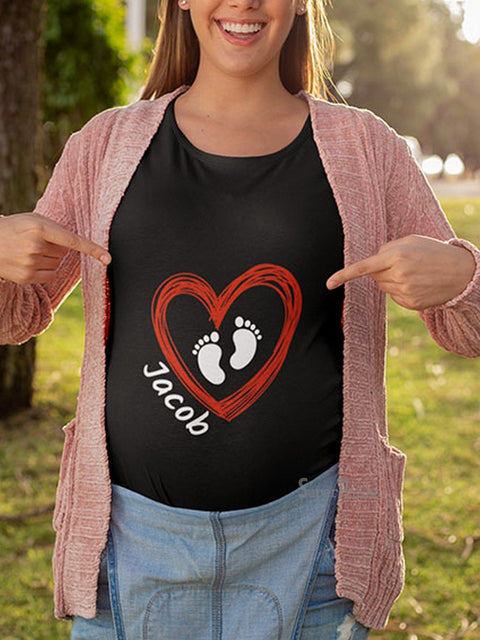 Jacob Pregnancy Maternity T Shirts