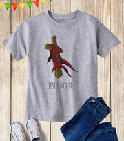 Jesus Did It Kids T Shirt