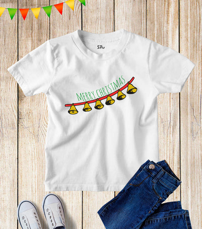 Jingle Bells Merry Christmas Kids T Shirt