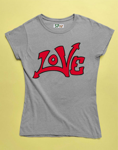 Love Valentine Women T Shirt
