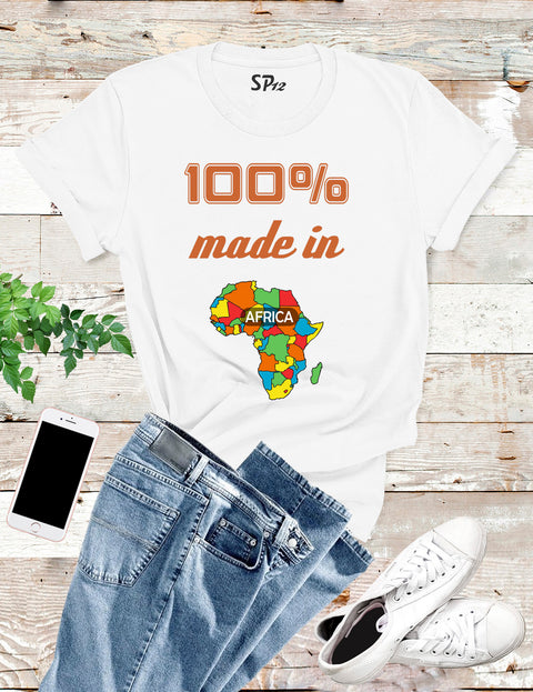 Africa Map Proud African T Shirt