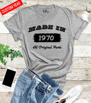 Made In Original Personalised T Shirt