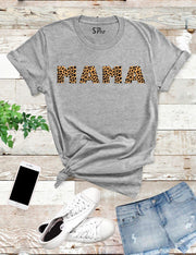 Mama Leopards T Shirt