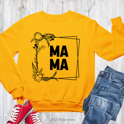 Mama Sweatshirt Uk