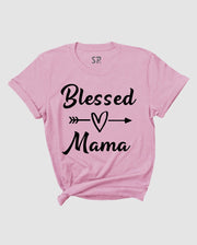 Mama T Shirt Blessed Mama tshirt Mom T-shirt Mothers Day Tee