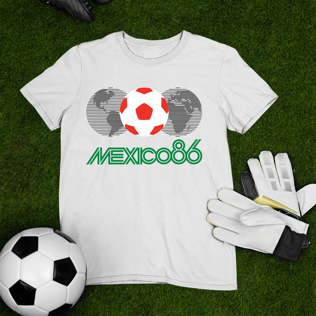 Mexico 1986 Football World Cup Legend T Shirt Sports Lover Gift Tee